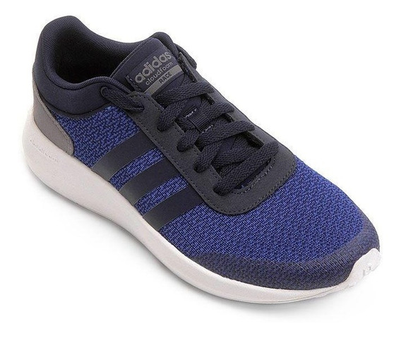 Tênis adidas Cf Race Azul Marinho/azul