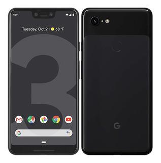Celular Google Pixel 3 Xl 64gb Negro Caja Funda Como Nuevo