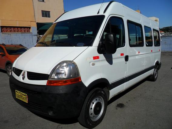 Renault Master Longa Teto Alto Kit Escolar 16/20 Lugares