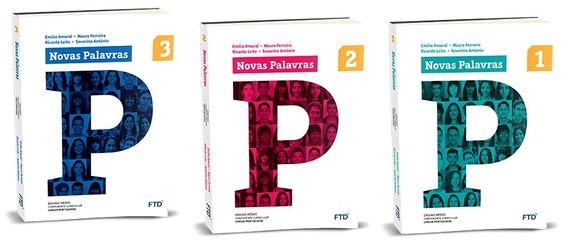Novas Palavras Português Coleção Completa. Manual