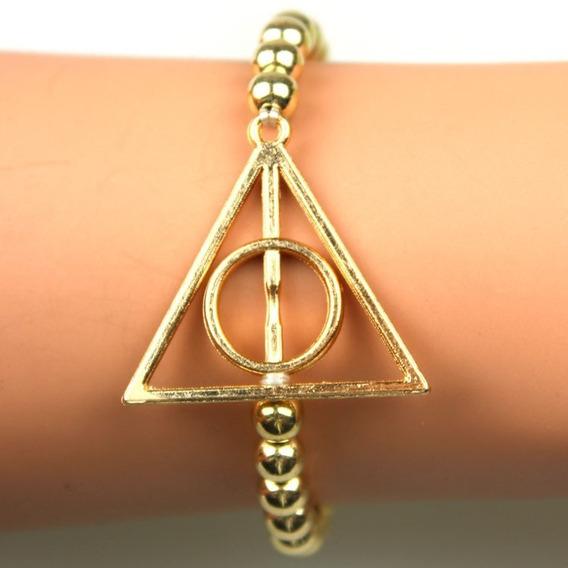 Pulseira Relíquias Da Morte Harry Potter