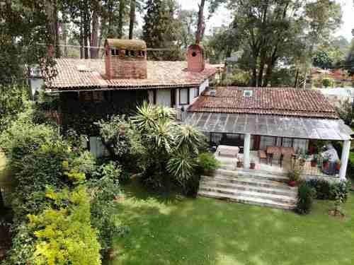 Casa En Venta, Avandaro; Valle De Bravo