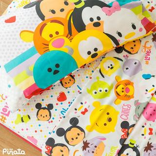 Juego Sabana Infantil Piñata Disney Tsum Tsum 1 1/2 Plaza