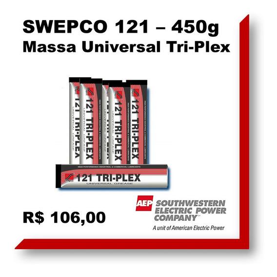 Graxa - Lubrif Universal - Tri Plex Swepco 121 - 450g