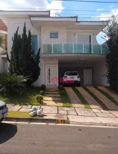 Lindo Sobrado Com 3 Dormitórios À Venda, 314 M² Por R$ 1.250.000 - Condomínio Vila Dos Inglezes - Sorocaba/sp - So0333