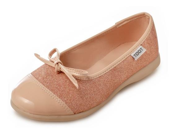 Ballerina Chatita Moños Toot Nº 27al 33 Charlotte Deluxe