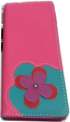 Billetera Sobre Fichero Combinada Flor 3 Colores
