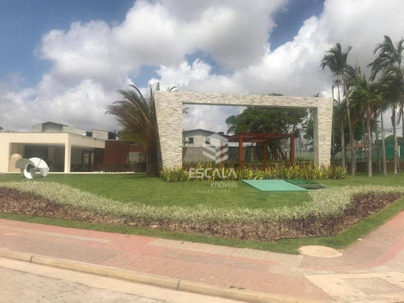Terreno À Venda, 370 M², Condominio Vilas Do Lago, Financia - Lagoa Redonda - Fortaleza/ce - Te0162