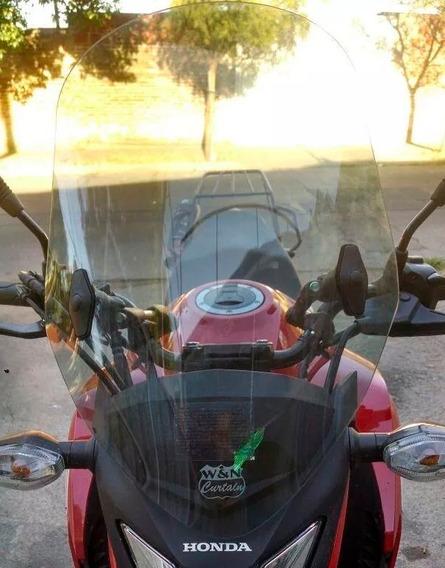 Parabrisas Honda Cb 250 Twister Nuevo Elevado Top Racing Cuotas