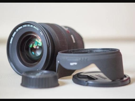 Sigma Nikon 24-70 2.8 Ex Dg