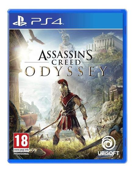 Ps4 Assassins Creed Odyssey Juego Fisico Nuevo Y Sellado