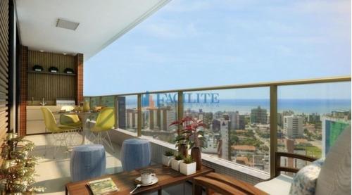 Apartamento À Venda No Cabo Branco - 22941-34069