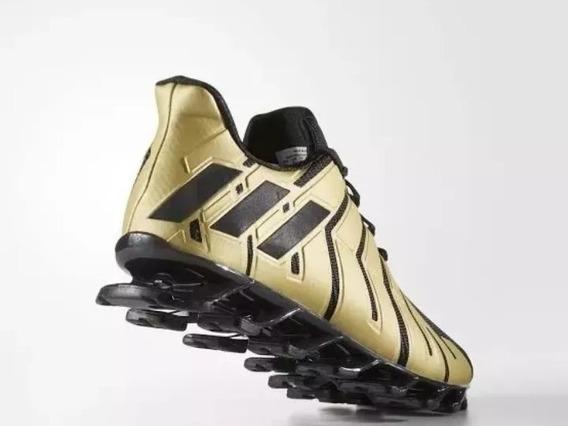 Tênis adidas Springblade Pro Preto & Dourado Original