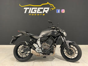Yamaha Mt 07 Abs - 2017 - 10.000km - Manual+chave Reserva