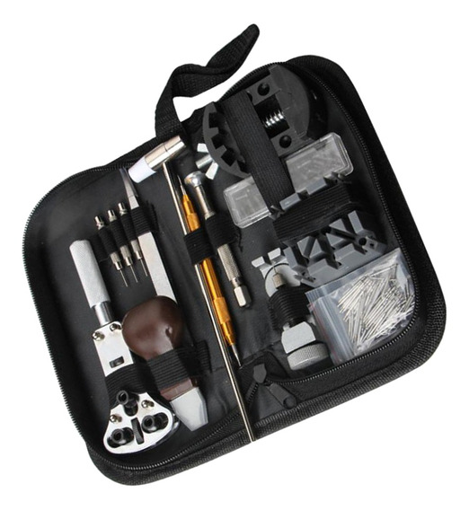 136pcs Relógio Repair Tool Kit Case Opener Spring Bar Remov