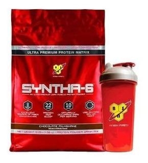 Bsn Syntha 6 X 10 Lb + Vaso Proteina Importada Envio Gratis