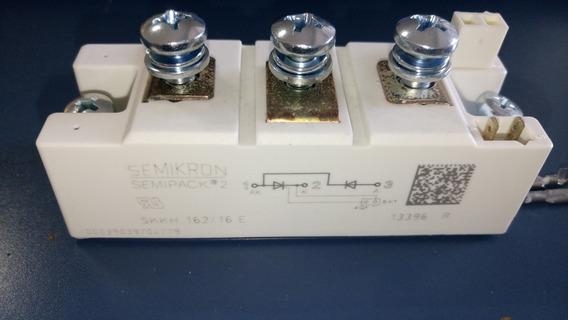 Módulo Tiristor Semikron Skkh 162/16e