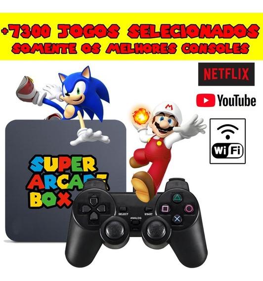 Video Game Retro 7300 Jogos Selecionados Super Arcade Box
