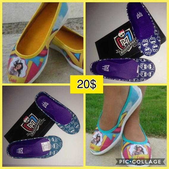 Zapatillas Niña Moda Colombiana