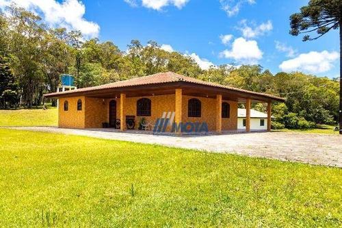 Imagem 1 de 17 de Chácara A Venda Ideal Para Associações, Turismo Rural, Hotel Fazenda, Entre Outros Investimentos - Ch0199