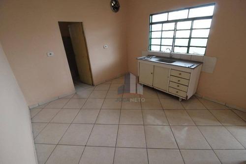 Casa Com 1 Dormitório Para Alugar, 70 M² Por R$ 750/mês - Jardim Cruzeiro - Mauá/sp - Ca0513