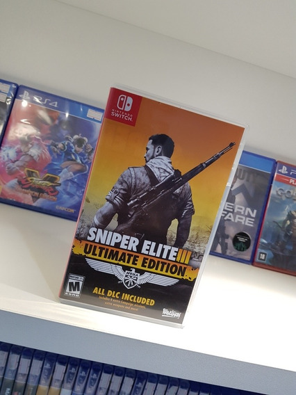 Sniper Elite 3 Nintendo Switch Usado Perfeito Estado