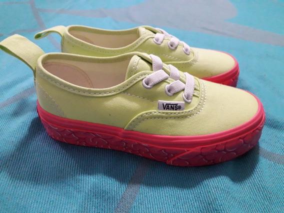 Nuevas Vans Zapatillas Niña Importadas Originales 26,5 27,5