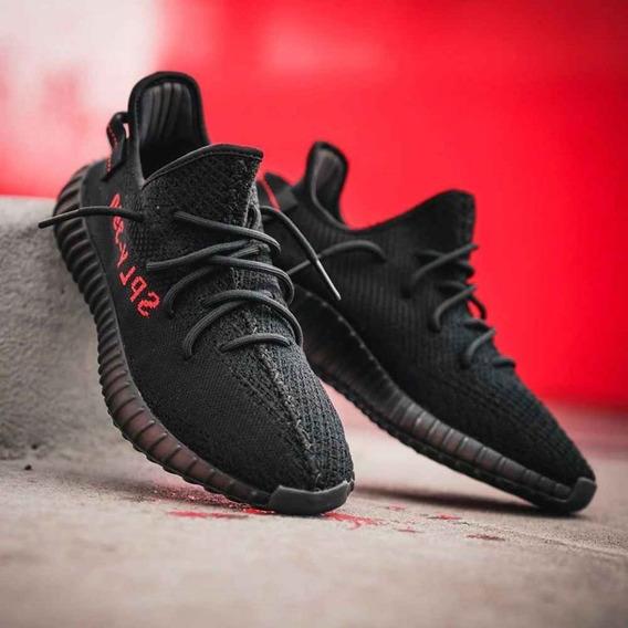 Zapatillas Yeezi Boost V2 Black Red