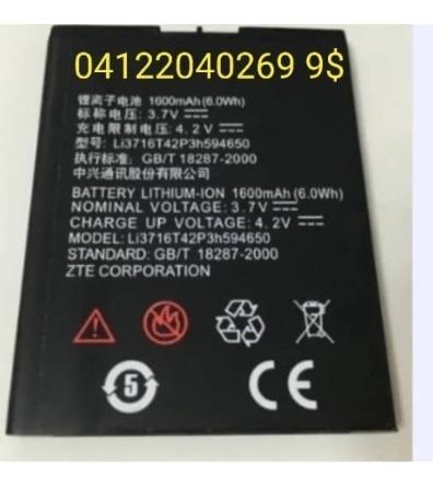 Pila Bateria Zte Grand X V769 V889 V970 Carib 4 1600mah