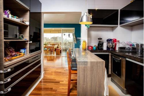 Apartamento Com 3 Dormitórios À Venda, 103 M² Por R$ 1.195.000,00 - Vila Cruzeiro - São Paulo/sp - Ap4195
