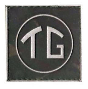 Distintivo Emborrachado Eb Tg (tiro De Guerra)