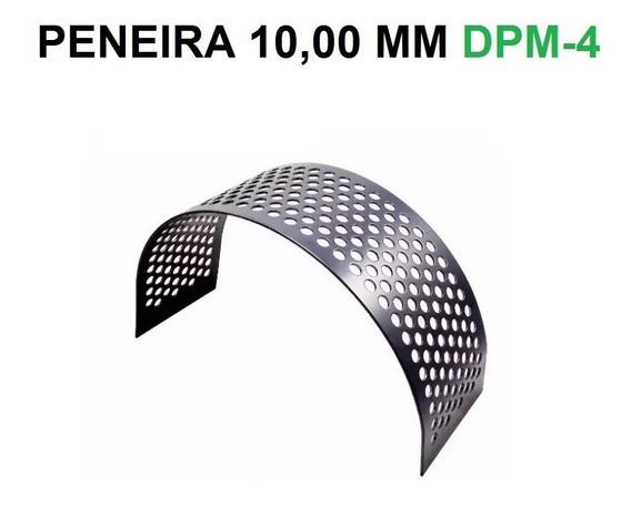 Peneira 10,00 Mm Triturador Dpm-4 Da Nogueira