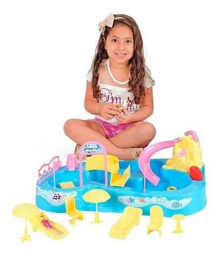 Brinquedo Parque Aquatico Piscina Toboga Homeplay Xplast 802