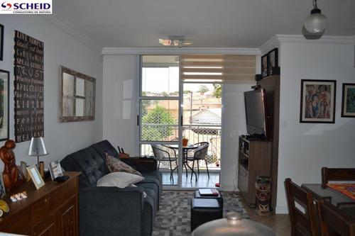 Imagem 1 de 15 de Apto Com 3 Dormitórios Sendo 1 Suíte, 1 Vaga. - Mc1197
