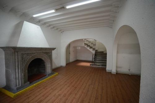 Casa Con Uso De Suelo Para Oficinas San Miguel Chapultepec