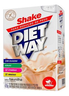 Diet Way Shake - 420 Gramas - Midway Sabores