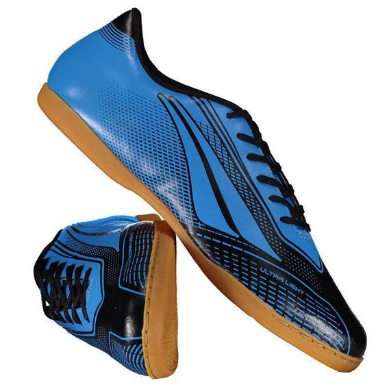 Chuteira Penalty Storm Speed Vii Futsal Azul