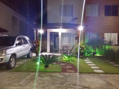 Casa Em Condomínio Residencial Em Camaçari - Ba, Abrantes - Ca01174