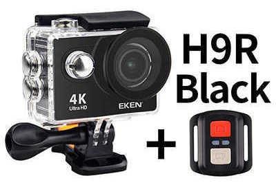 Câmera Eken H9r 4k 100%original +controle Prova Da Água