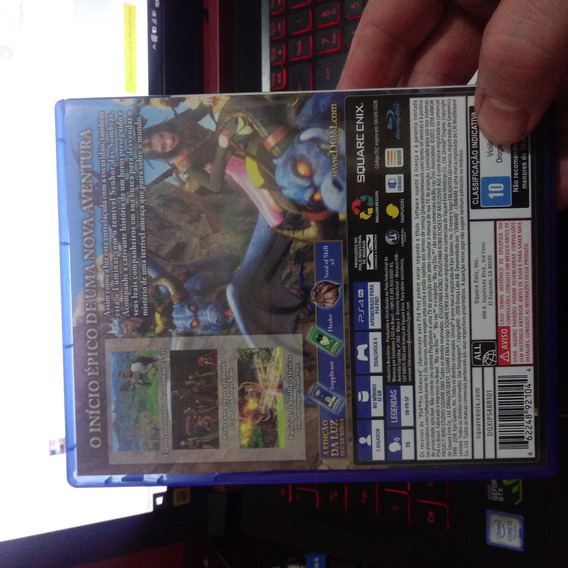 Dragon Quest Xi. Ps4 Midia Física. Em Estado De Novo