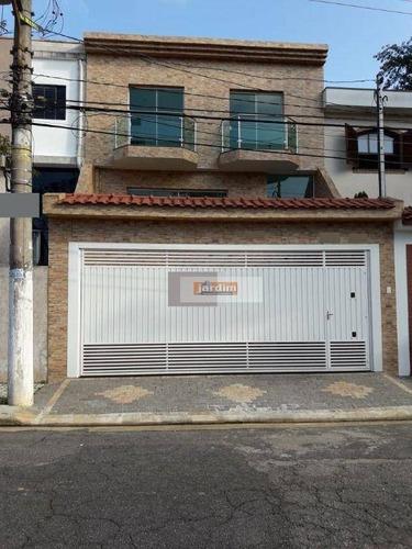 Sobrado Com 3 Dormitórios À Venda, 180 M² - Jardim Do Mar - São Bernardo Do Campo/sp - So2086