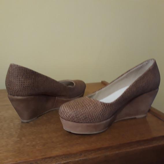 Zapatos Clasicos Plataforma Y Taco