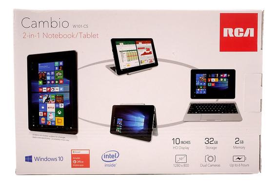 Notebook 2 Em 1 Rca Cambio 10 2gb Ram Hd 32gb Windows 10