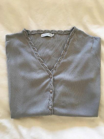 Sweater Tipo Cardigan