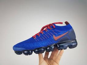 Nike Vapormax 2.0 Azul Original + Relógio De Brinde