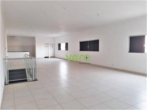 Imagem 1 de 6 de Sala Para Alugar, 136 M² Por R$ 1.500,00/mês - Jardim Das Orquídeas - Americana/sp - Sa0023