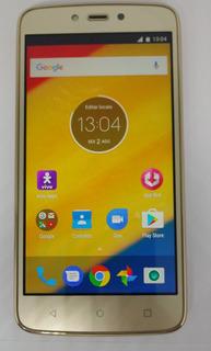 Motorola C Plus Xt1726 8gb Dourado Reinicia Inesperadamente