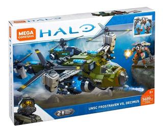 Mega Construx Halo: Frost Raven Vs Decimus (1489 Piezas)