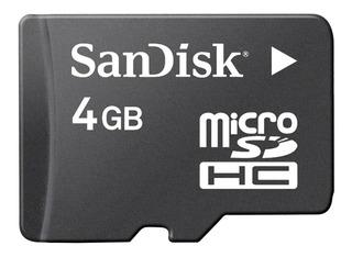 Cartão De Memória Sandisk Micro Sdhc 4gb Classe 04