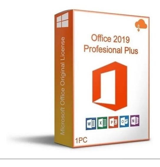Software Of Office 2019 Pro Plus Originals Permanente One/pc